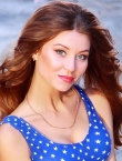 Photo of beautiful Ukraine  Alena with brown hair and green eyes - 19876