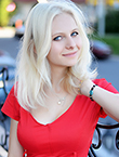 Photo of beautiful  woman Alexandra with blonde hair and blue eyes - 12978