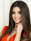 Photo of beautiful  woman Alexandra with brown hair and brown eyes - 23180