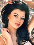 Photo of beautiful Ukraine  Alina with black hair and blue eyes - 12211