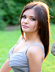 Photo of beautiful Ukraine  Alina with brown hair and green eyes - 19059