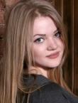 Photo of beautiful Ukraine  Alina with blonde hair and green eyes - 20066