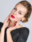 Photo of beautiful Ukraine  Alina with blonde hair and blue eyes - 20100