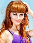 Photo of beautiful  woman Alina with brown hair and green eyes - 21497