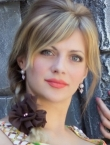 Photo of beautiful Ukraine  Alla with blonde hair and green eyes - 20480
