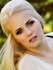 Photo of beautiful Ukraine  Alla with blonde hair and green eyes - 20589