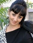 Photo of beautiful Ukraine  Anastasiya with black hair and blue eyes - 19489