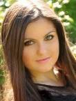 Photo of beautiful Ukraine  Anastasiya with black hair and grey eyes - 20276