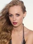 Photo of beautiful Ukraine  Anastasiya with light-brown hair and green eyes - 21637