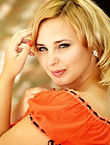 Photo of beautiful  woman Anna with blonde hair and green eyes - 12197
