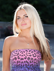 Photo of beautiful  woman Anna with blonde hair and green eyes - 12857