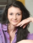 Photo of beautiful Ukraine  Daria with black hair and brown eyes - 22075