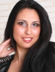 Photo of beautiful Ukraine  Diana with black hair and brown eyes - 21099