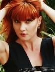 Photo of beautiful Ukraine  Diana with red hair and green eyes - 22654