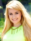 Photo of beautiful Ukraine  Diana with blonde hair and brown eyes - 22748