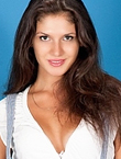 Photo of beautiful  woman Elena with brown hair and brown eyes - 12196