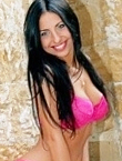 Photo of beautiful Ukraine  Elena with black hair and green eyes - 12289