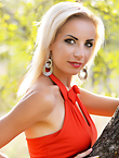 Photo of beautiful Ukraine  Elena with blonde hair and green eyes - 12850