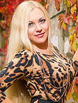 Photo of beautiful Ukraine  Elena with blonde hair and grey eyes - 18228