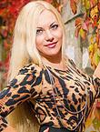 Photo of beautiful Ukraine  Elena with blonde hair and grey eyes - 18228