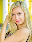 Photo of beautiful Ukraine  Julia with blonde hair and blue eyes - 19501