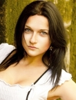Photo of beautiful Ukraine  Julia with black hair and blue eyes - 19707