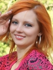 Photo of beautiful Ukraine  Juliya with red hair and green eyes - 20532