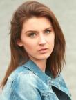 Photo of beautiful Ukraine  Karina with blonde hair and green eyes - 21165