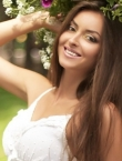 Photo of beautiful Ukraine  Karina with light-brown hair and brown eyes - 21247