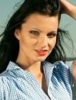 Photo of beautiful Ukraine  Karina with black hair and brown eyes - 21469