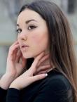 Photo of beautiful Ukraine  Karina with brown hair and green eyes - 21815