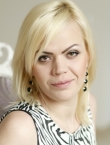 Photo of beautiful Ukraine  Katerina with blonde hair and green eyes - 21339