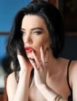 Photo of beautiful  woman Kristilina with black hair and blue eyes - 21949