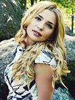 Photo of beautiful Ukraine  Kristina with blonde hair and blue eyes - 18187