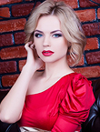 Photo of beautiful Ukraine  Kristina with blonde hair and blue eyes - 19222