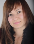 Photo of beautiful Ukraine  Kristina with brown hair and brown eyes - 20441