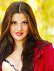 Photo of beautiful Ukraine  Kristina with brown hair and brown eyes - 20565