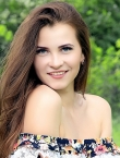 Photo of beautiful Ukraine  Kristina with brown hair and blue eyes - 20704