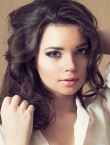 Photo of beautiful Ukraine  Kristina with brown hair and brown eyes - 20799