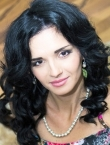 Photo of beautiful Ukraine  Kristina with black hair and brown eyes - 20882