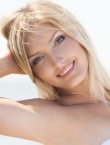 Photo of beautiful Ukraine  Maria with blonde hair and blue eyes - 20410