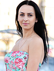 Photo of beautiful Ukraine  Marina with black hair and green eyes - 12980