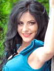 Photo of beautiful Ukraine  Marina with black hair and brown eyes - 19847