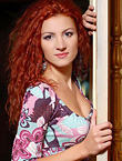 Photo of beautiful Ukraine  Natalia with red hair and brown eyes - 18172