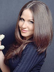 Photo of beautiful  woman Nataliya with brown hair and brown eyes - 19225