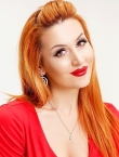 Photo of beautiful  woman Nataliya with red hair and brown eyes - 20725