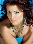 Photo of beautiful Ukraine  Oksana with brown hair and hazel eyes - 12305