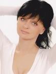 Photo of beautiful Ukraine  Oksana with black hair and green eyes - 19869