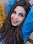 Photo of beautiful Ukraine  Oksana with brown hair and brown eyes - 19929