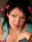 Photo of beautiful Ukraine  Olga with black hair and brown eyes - 19488